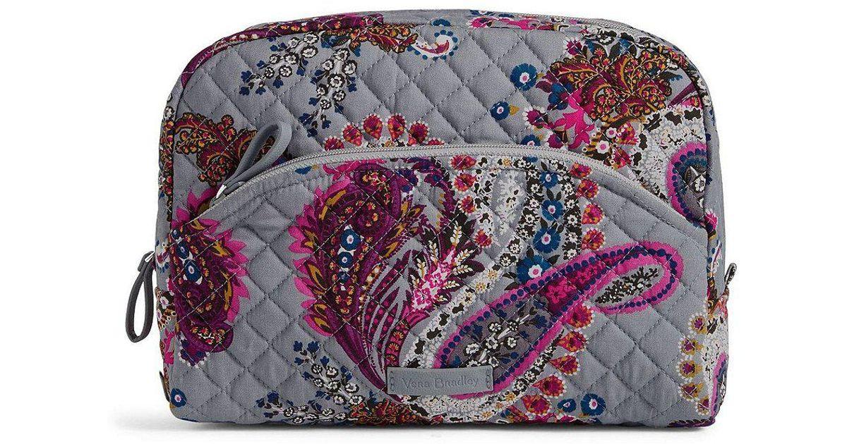 6b68b7ef9c Lyst - Vera Bradley Iconic Large Cosmetic Bag
