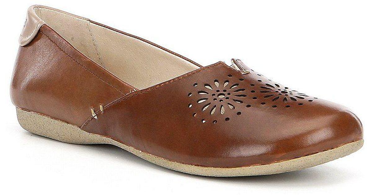 Josef Seibel Fiona 45 Perforated Leather Slip-Ons nynGeJV