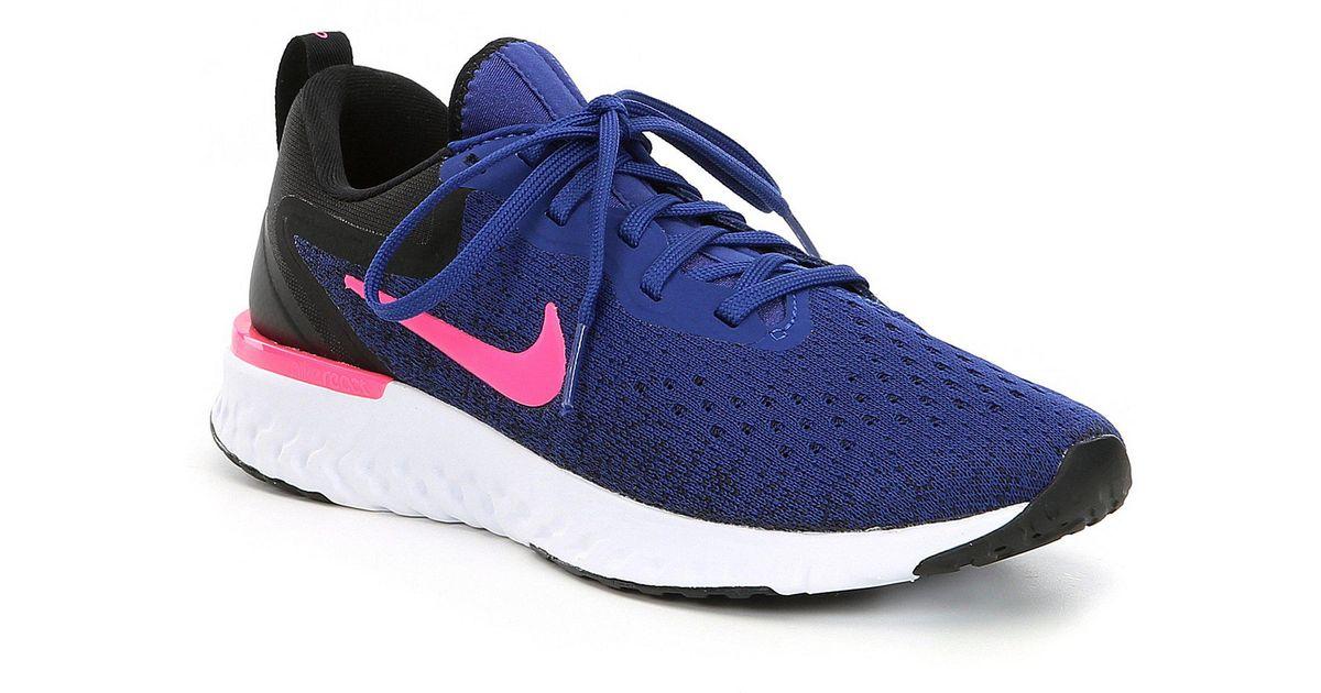 Lyst - Nike Women s Odyssey React Running Shoe in Blue 796dc99b07