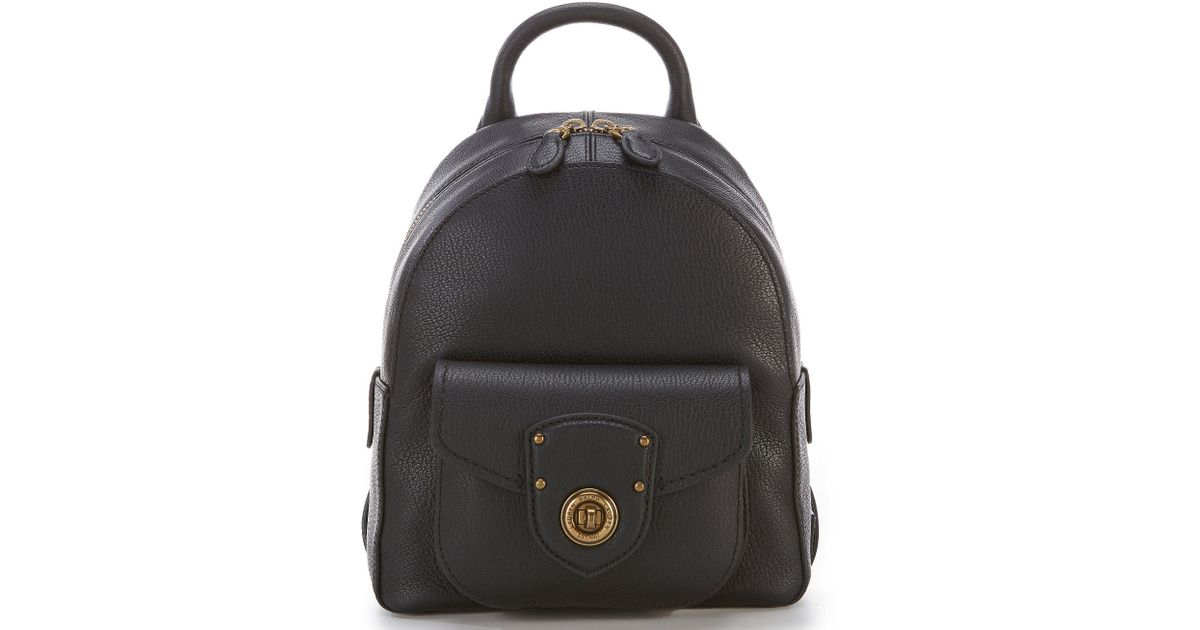 ee4ea8351811 Lyst - Lauren by Ralph Lauren Millbrook Small Backpack in Black