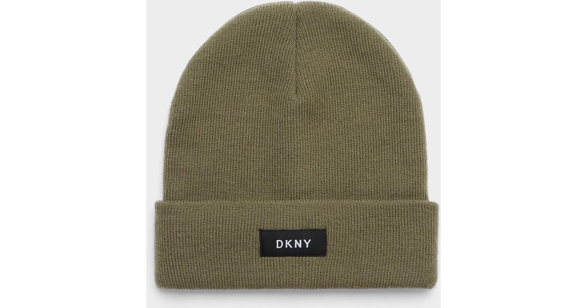 7c3a07cb749 Lyst - DKNY Fold Over Hat for Men