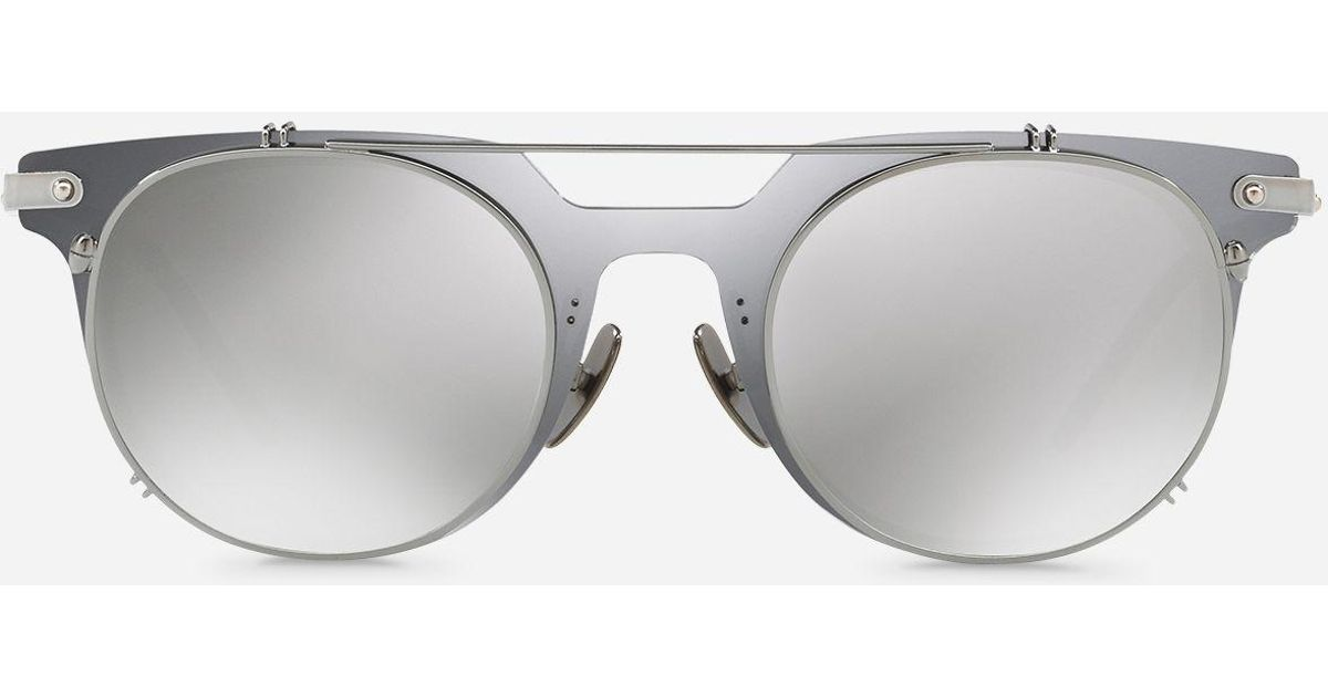 Lyst - Dolce & Gabbana Panthos Sunglasses With Metal Frame