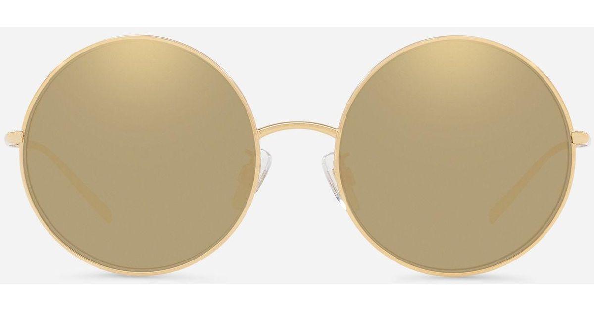ab2d3548a13b Lyst - Dolce   Gabbana Gold Edition Sunglasses in Metallic