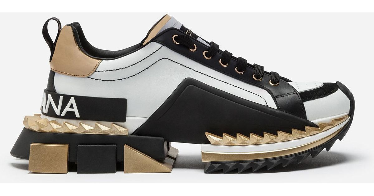 Lyst Dolce Amp Gabbana Multicolor Super King Sneakers In