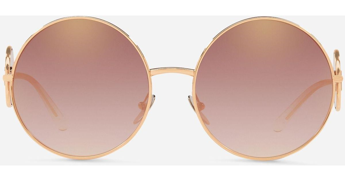 dd21254a8b23 Dolce & Gabbana Sicilian Sweet Sunglasses in Pink - Lyst