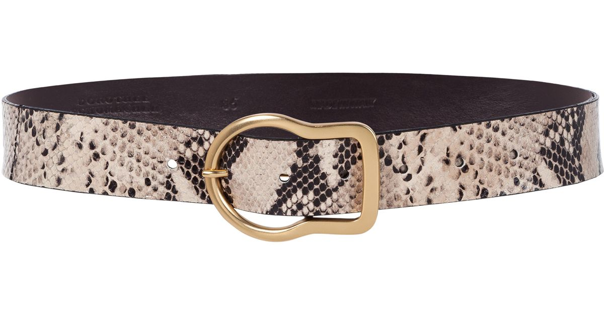 gold buckle belt - Brown Dorothee Schumacher OebR94J