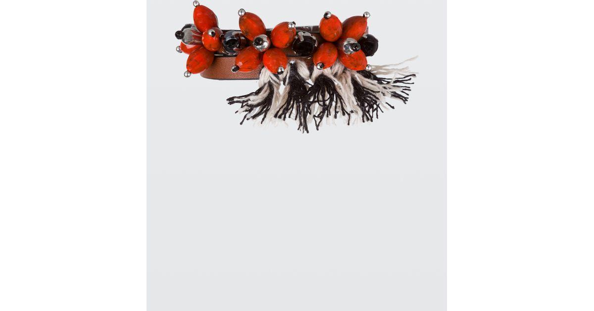 Dorothee Schumacher DELIGHTFULLY DECORATED embellished skinny bracelet W8tj0SbduR