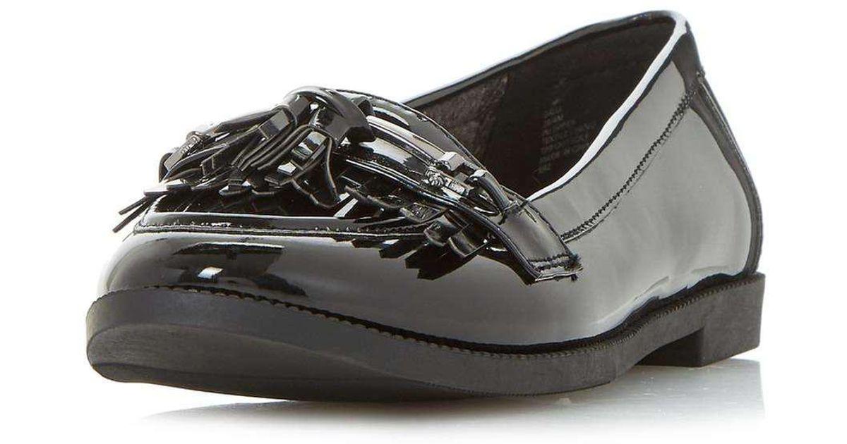 17b53c3c100 Lyst - Dorothy Perkins Head Over Heels By Dune Black  gigli  Loafers in  Black