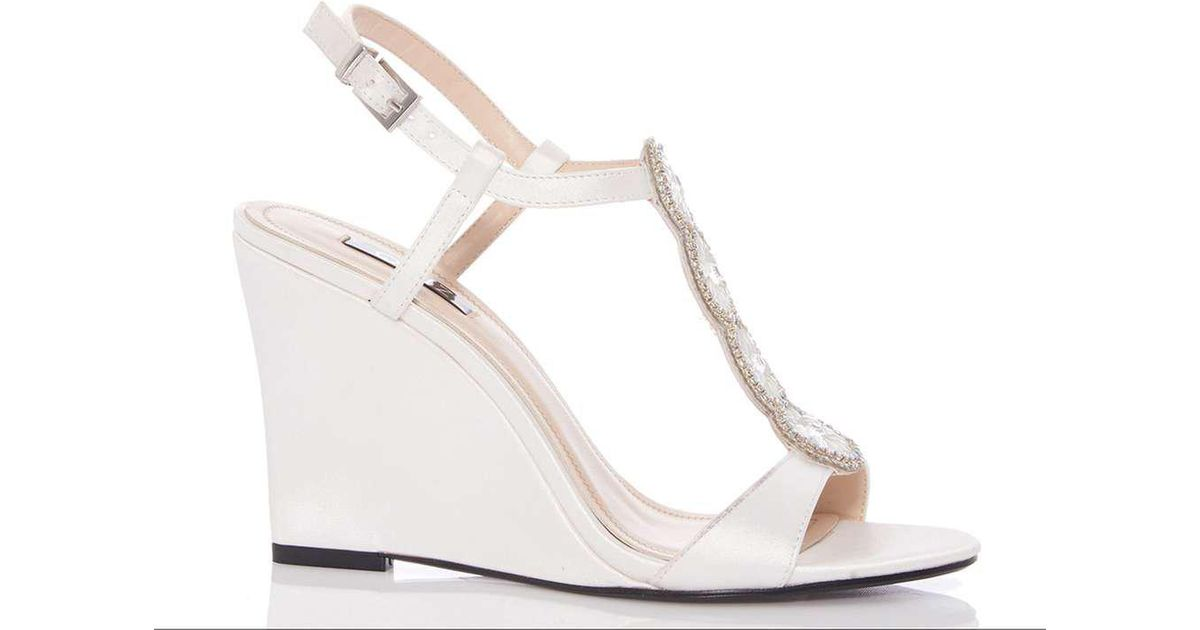 Dorothy Perkins Womens *Quiz Emellished Wedges- Hot Sale Store Sale Online Buy Cheap Clearance Outlet With Paypal Order Discount Fashion Style iXna0FRlV0