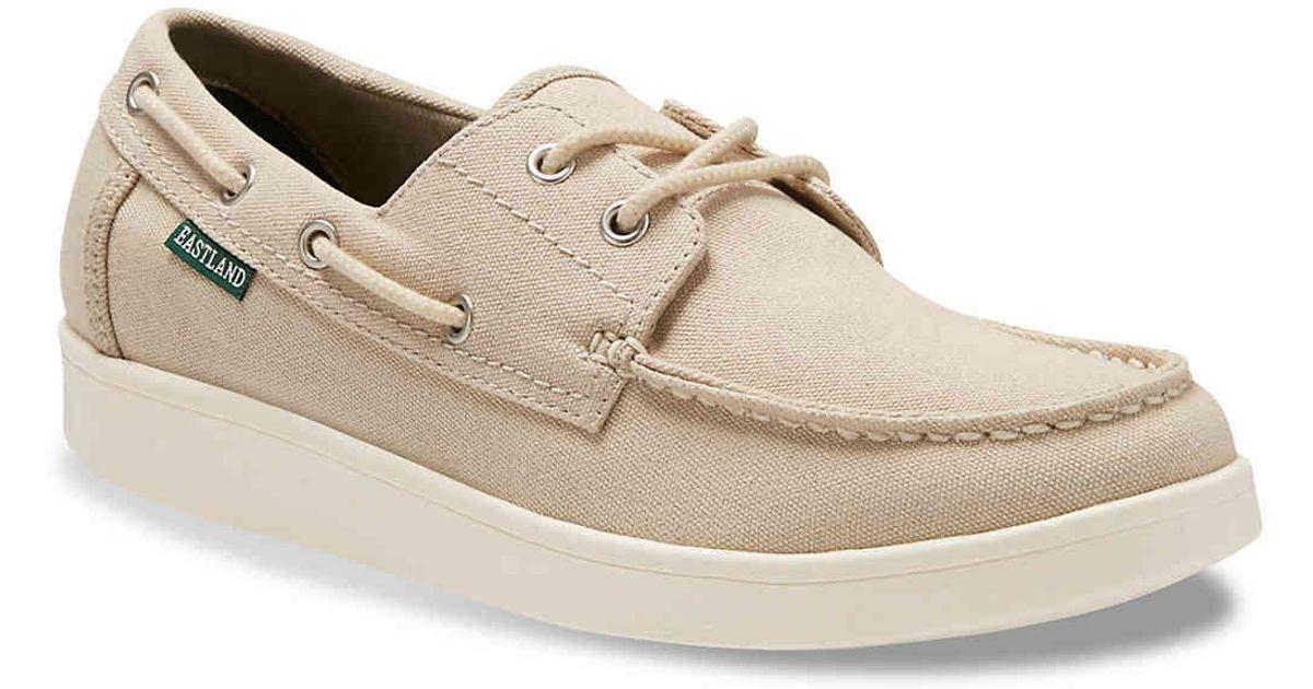 Eastland POPHAM - Boat shoes - blue QAiwYAI1