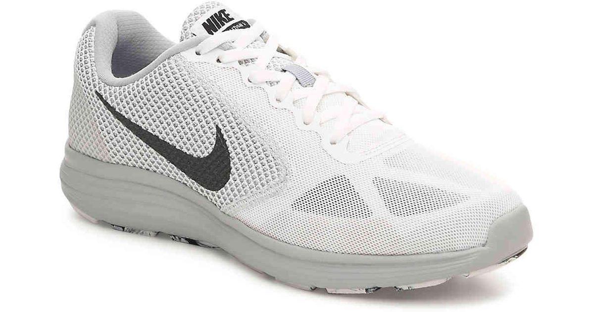 b71984931058e Give me  Lyst - Nike Revolution 3 Lightweight Running Shoe in White for Men  ...