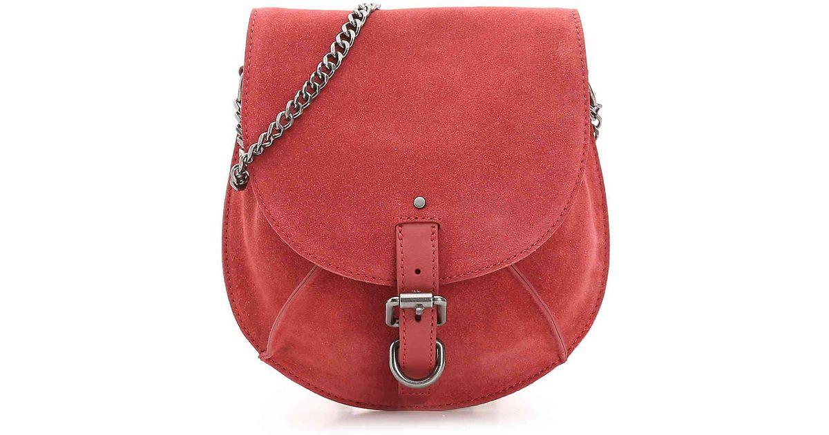 Lyst - Lucky Brand Maya Leather Crossbody Bag in Red 58dbaaad5fa60
