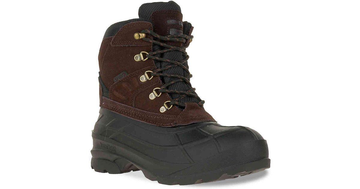 3c57a60fc6e Kamik - Brown Fargo Pack Snow Boot for Men - Lyst