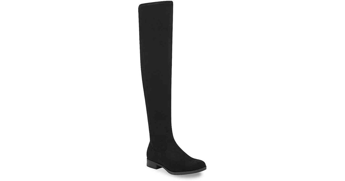 2df43a24f375 Lyst - Marc Fisher Jaywalk Over The Knee Boot in Black