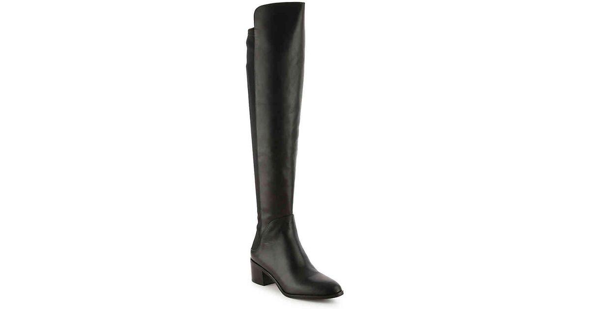 491e49fec60 Lyst - Via Spiga Breanna Over The Knee Boot in Black