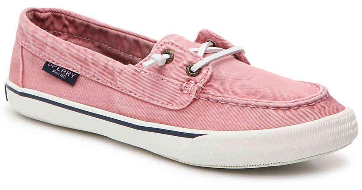 0f547d022ed4 Lyst - Sperry Top-Sider Lounge Away Boat Shoe in Pink