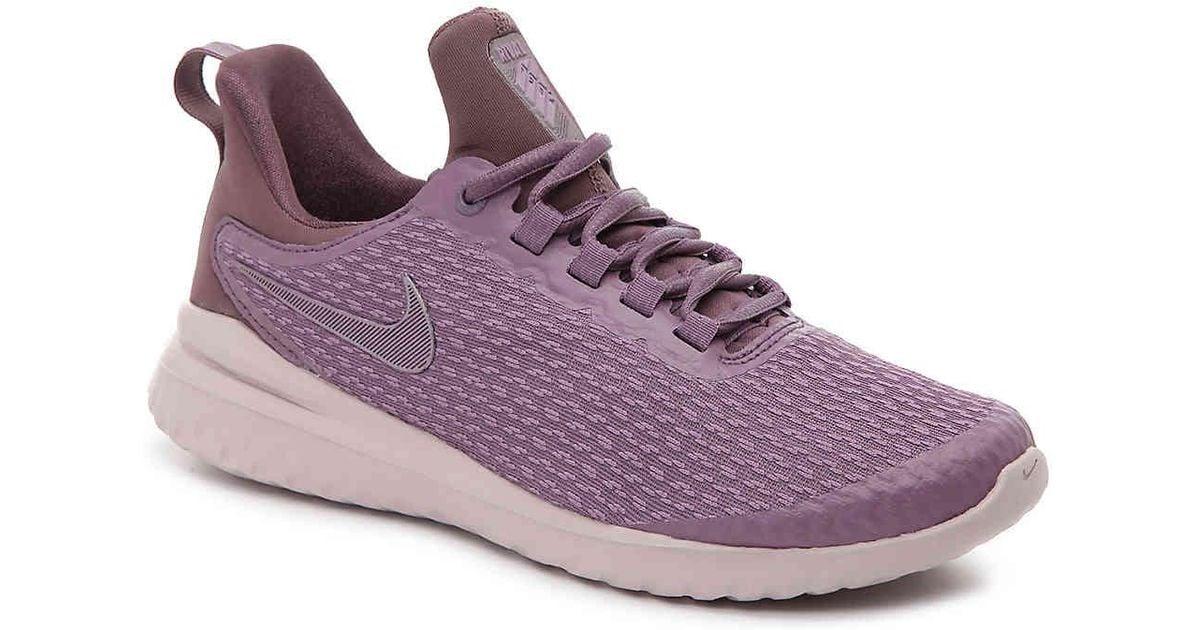 ac865e0087a2 Lyst - Nike Renew Rival Lightweight Running Shoe in Purple