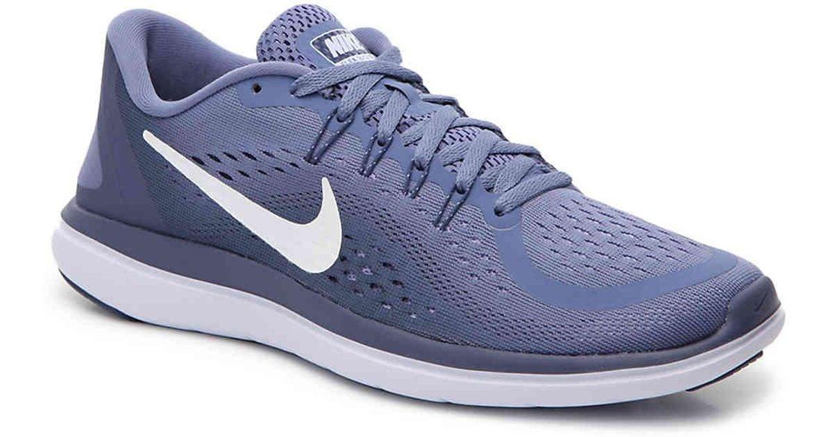 ac5bdf78707 Lyst - Nike Flex 2017 Rn Lightweight Running Shoe in Purple