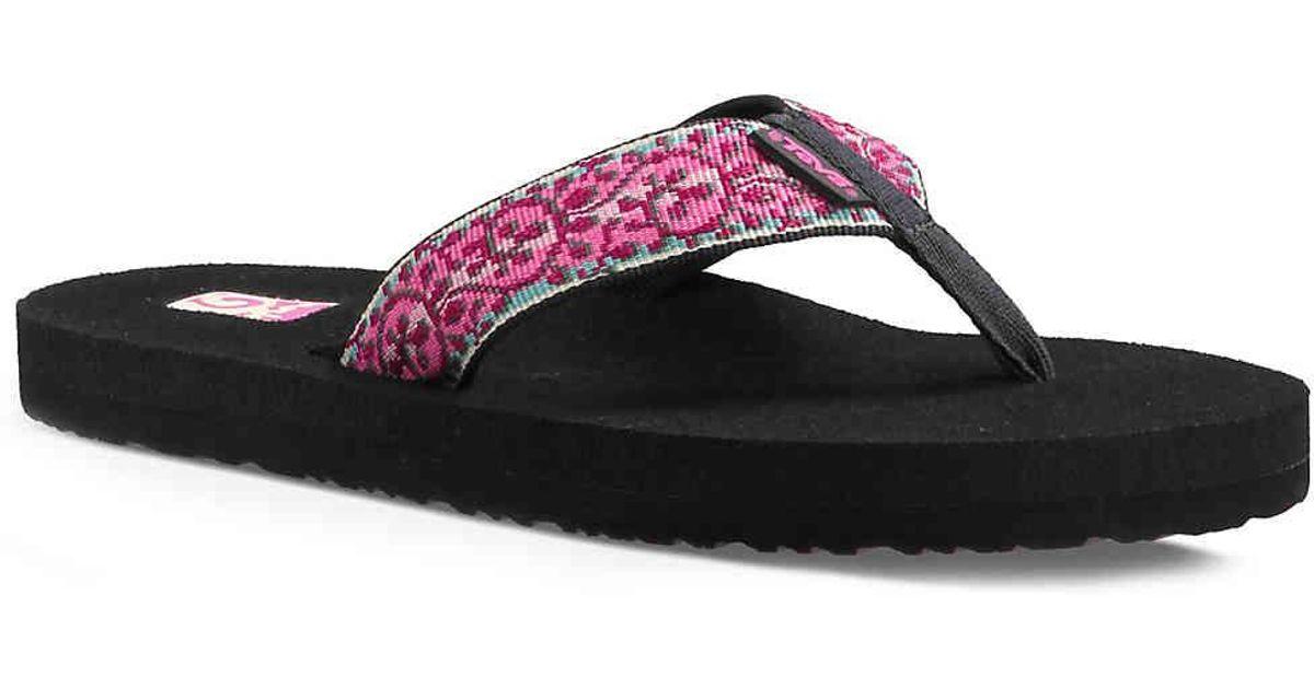21eb101c89982 ... Lyst - Teva Mush Ii Patterned Flip Flop in Pink most popular f1ebb  27fe0 ...