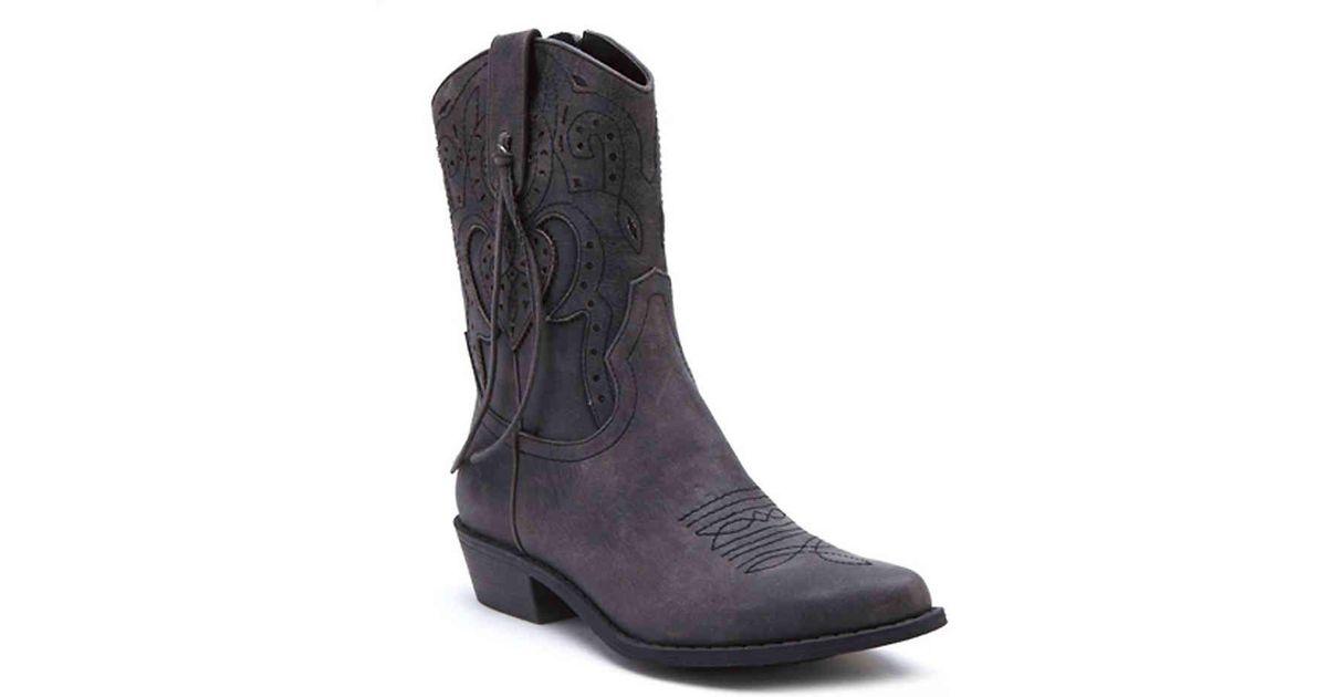 136228849ca8c3 Lyst - Coconuts Nash Cowboy Boot in Black