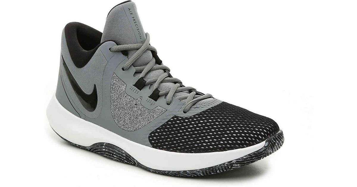 3a8ecd6552f Lyst - Nike Air Precision Ii Basketball Shoe in Gray for Men