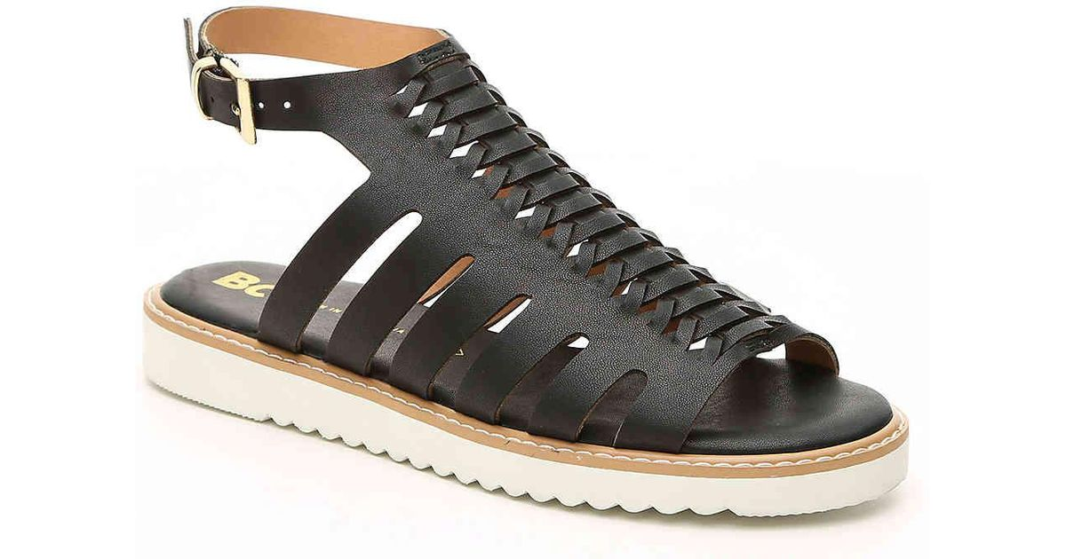 4007a19d003 Lyst - BC Footwear Something About You Sandal in Black