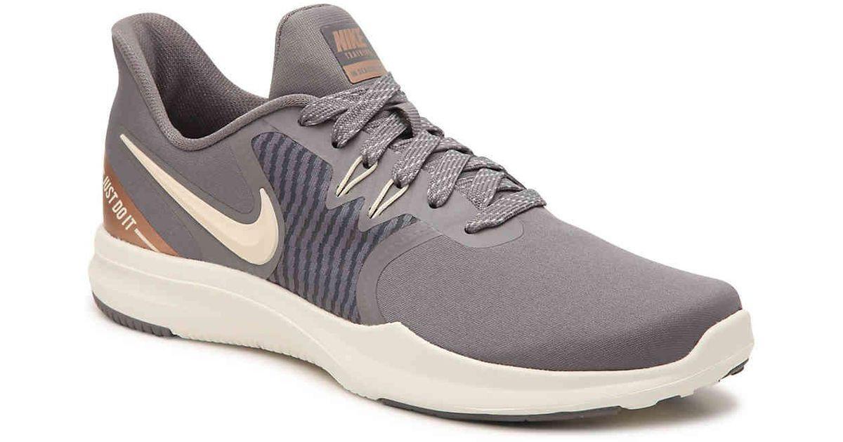 a083f015854df Lyst - Nike In Season Tr 8 Lightweight Training Shoe in Gray