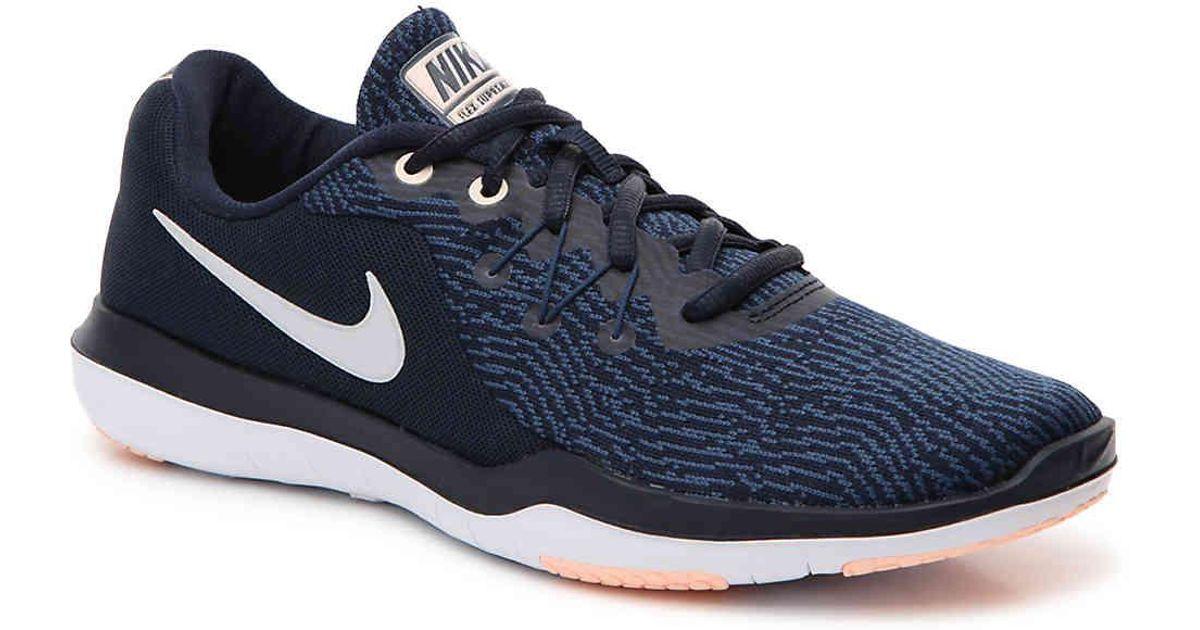 e519a6b23798 Lyst - Nike Flex Supreme 6 Lightweight Training Shoe in Blue