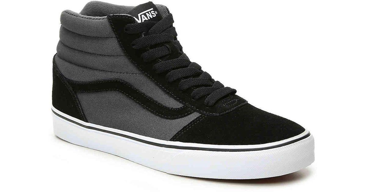 243fd206bb Lyst - Vans Ward Hi High-top Sneaker in Black for Men