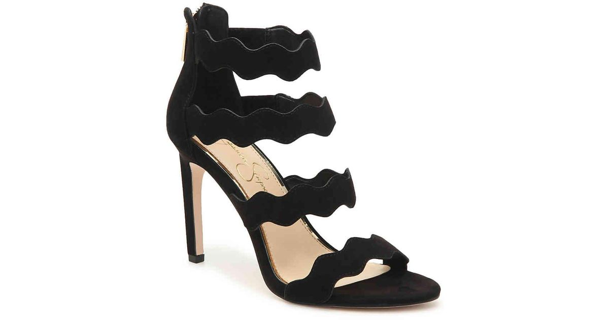 d7063beac77e Lyst - Jessica Simpson Chandri Sandal in Black