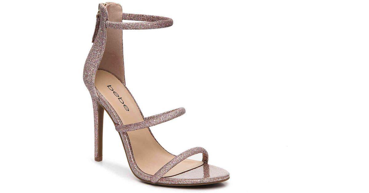 3e0eb2af1a4 Lyst - Bebe Berdine Sandal in Pink