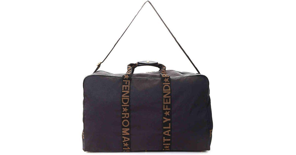 c7b870414921 ... buy lyst fendi roma italy 1925 shoulder bag in brown 1e280 fe931