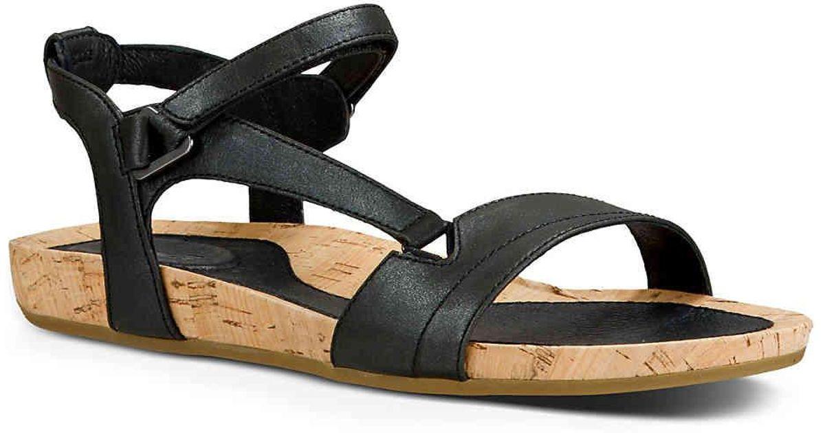 bb5b38897ca0 Lyst - Teva Capri Universal Flat Sandal in Black