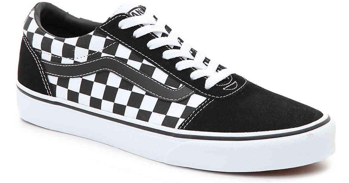 Lyst - Vans Ward Lo Sneaker in Black for Men 084354645