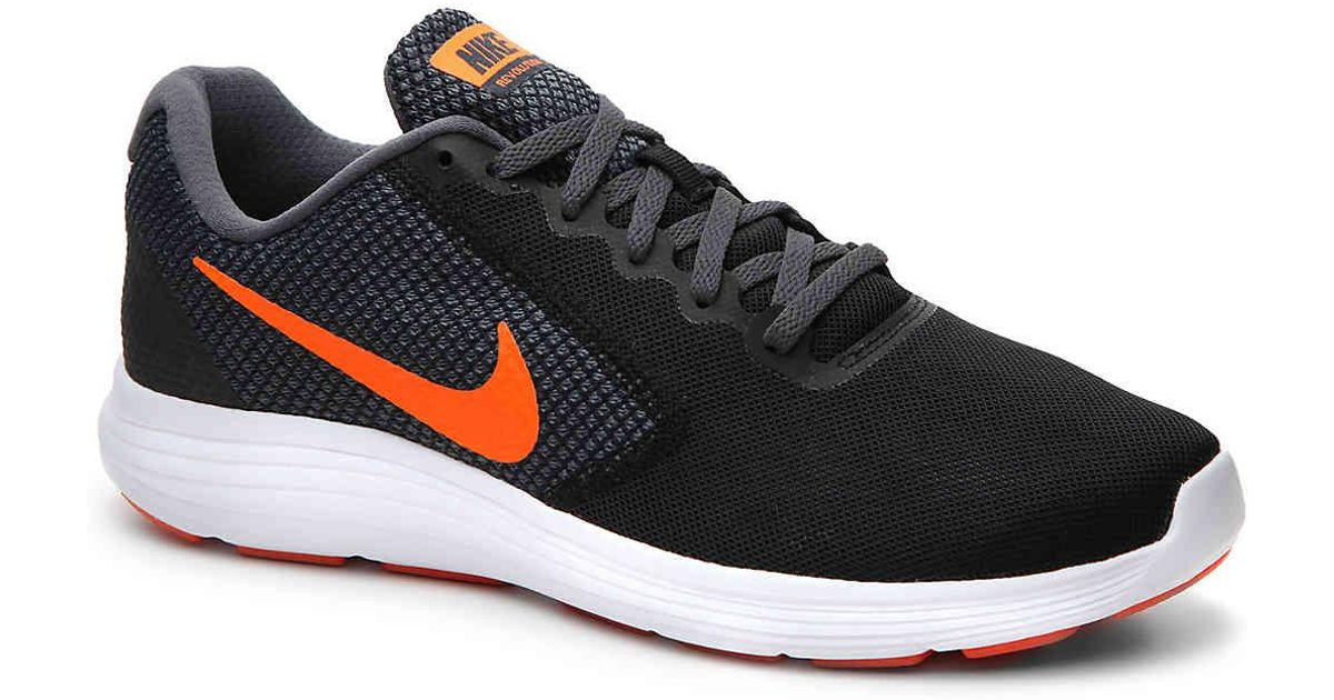 brand new ee7a5 3dbcc nike-BlackOrange-Revolution-3-Lightweight-Running-Shoe.jpeg