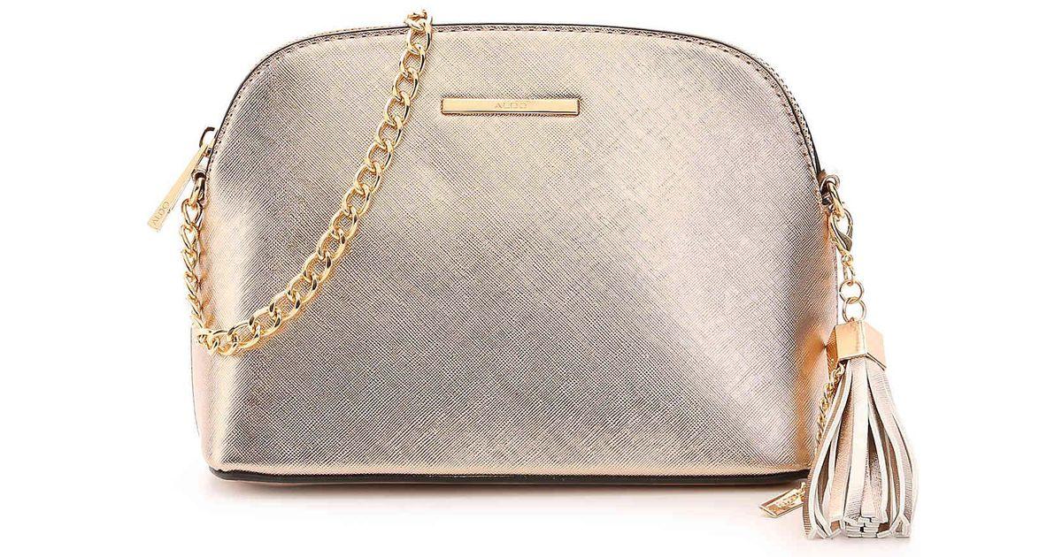 5180133aa57 Lyst - ALDO Elroodie Crossbody Bag in Metallic