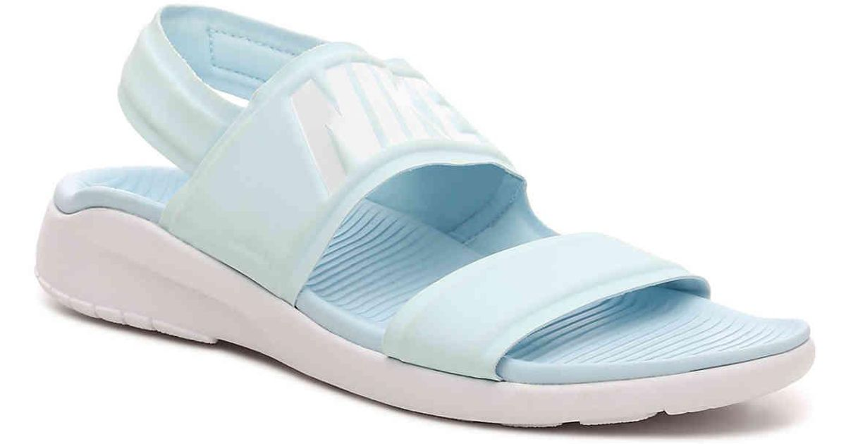6cc14de53 Lyst - Nike Tanjun Sport Sandal in Blue