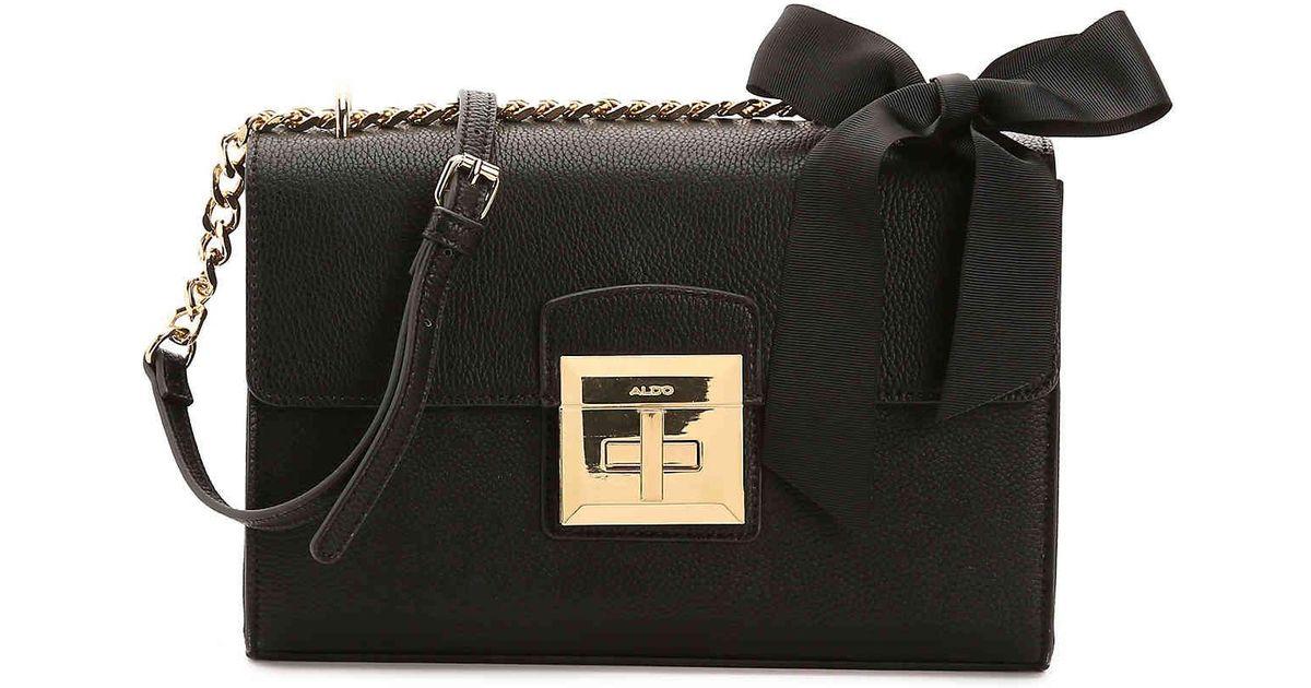 343e23ccf ALDO Maenia Crossbody Bag in Black - Lyst
