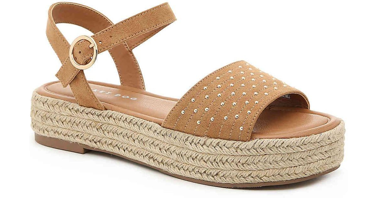 28293a7e075 Rocket Dog Brown Espee Espadrille Platform Sandal
