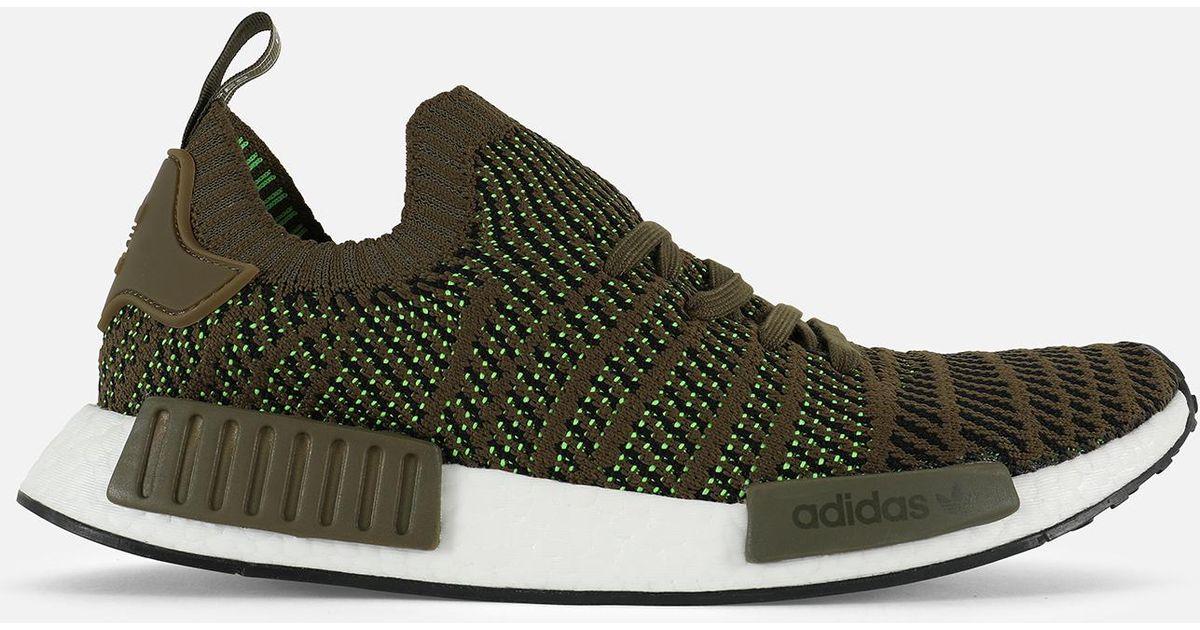 e9e44dd1df462 Lyst - Adidas Nmd r1 Stlt Primeknit in Green for Men