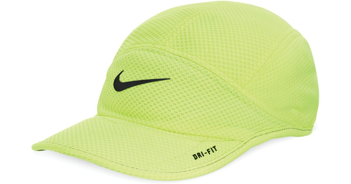 Lyst - Nike Daybreak Mesh Cap in Yellow for Men e85dad53578