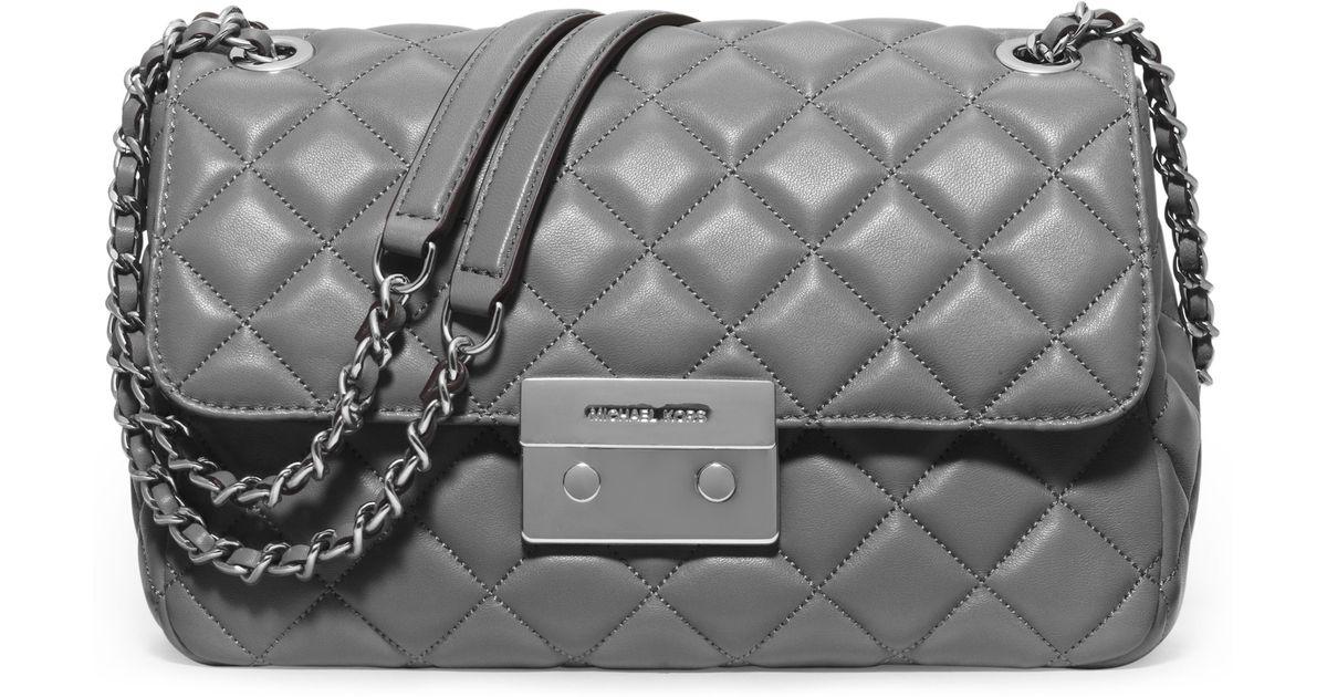 83ddab579cdf Michael Kors Grey Chain Handbag - Best Handbag In 2018