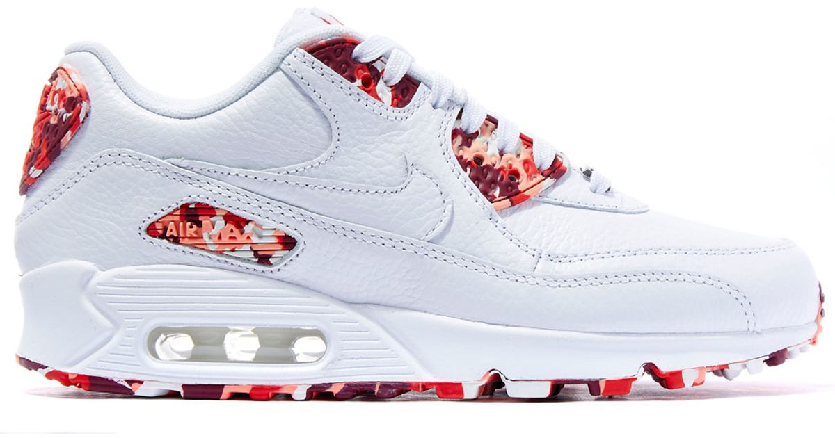48fbc92a7d35d Lyst - Nike White London Air Max 90 Sweets Trainers in White