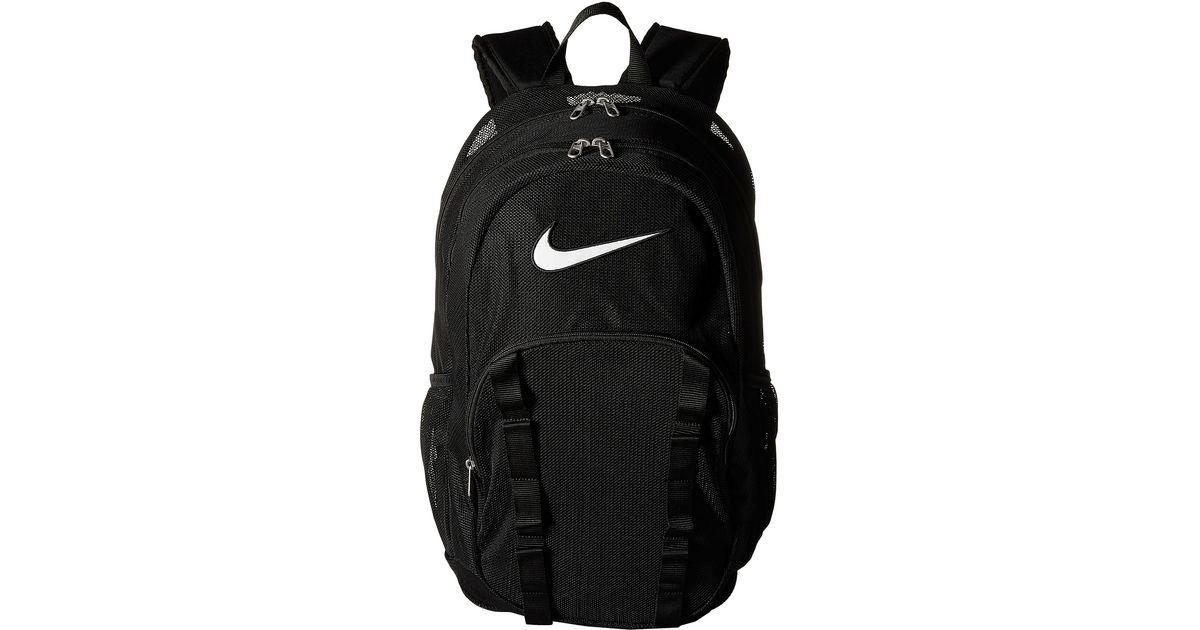 bc84b8adeb Lyst - Nike Brasilia 7 Backpack Mesh Xl in Black
