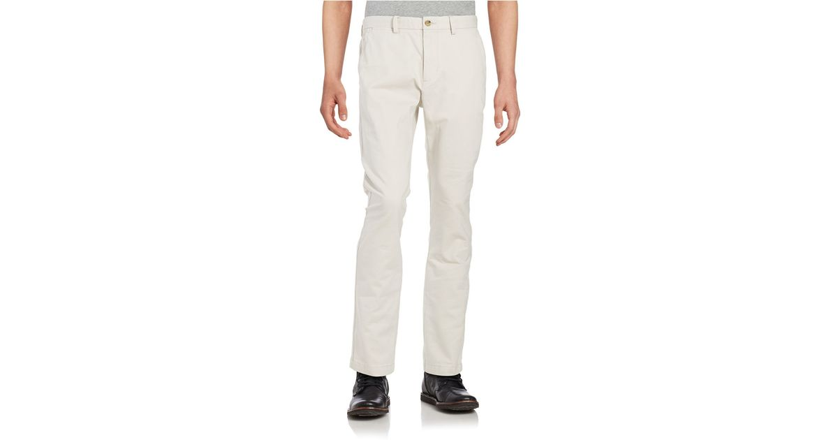 New Dockers Alpha Chino Pants In Gray For Men Black  Lyst