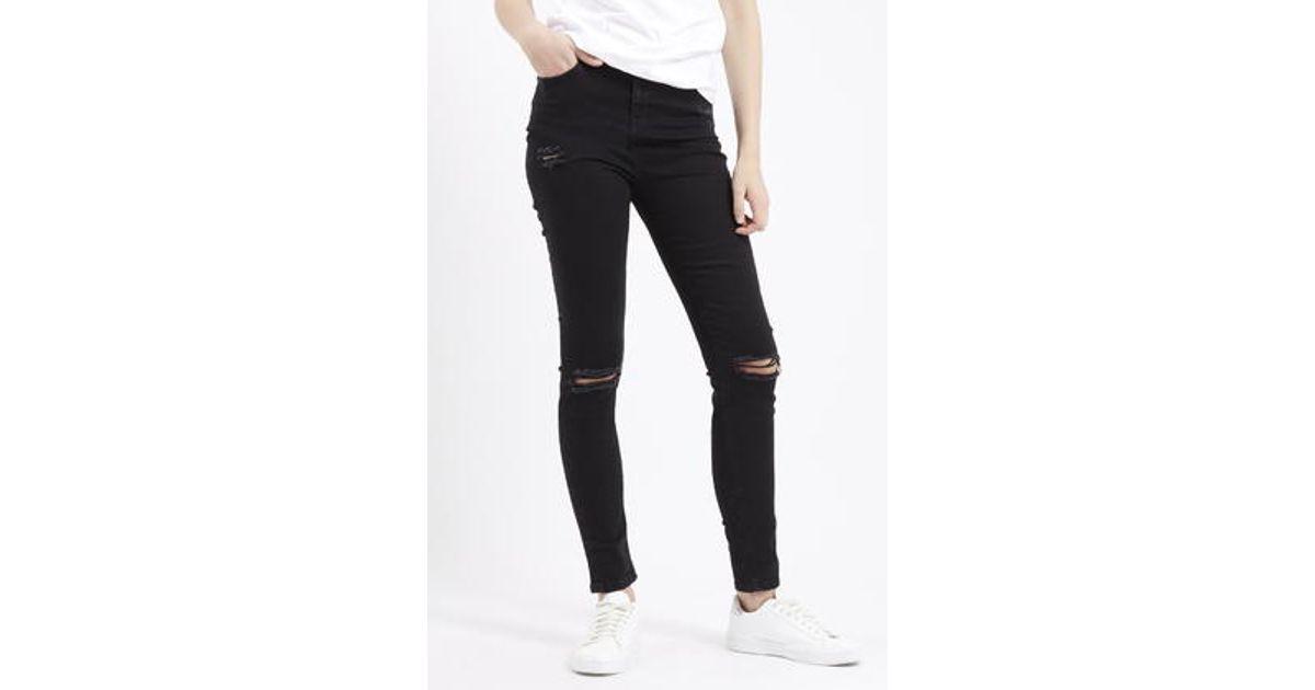 Black ripped jamie jeans