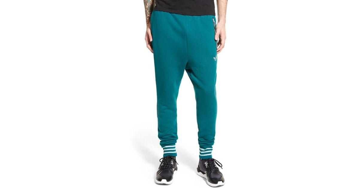pretty nice 33f8e 4a2e2 Lyst - adidas Originals Tech Jogger Sweatpants in Green for Men
