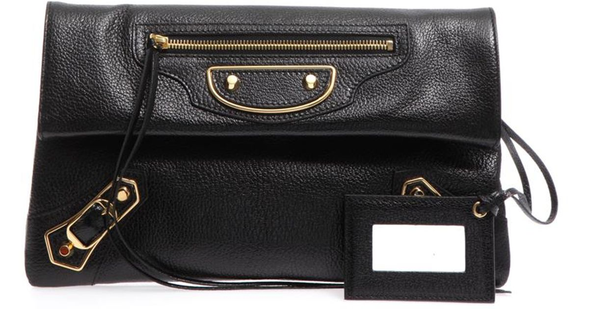 good looking better online shop Balenciaga Black Classic Envelope Clutch