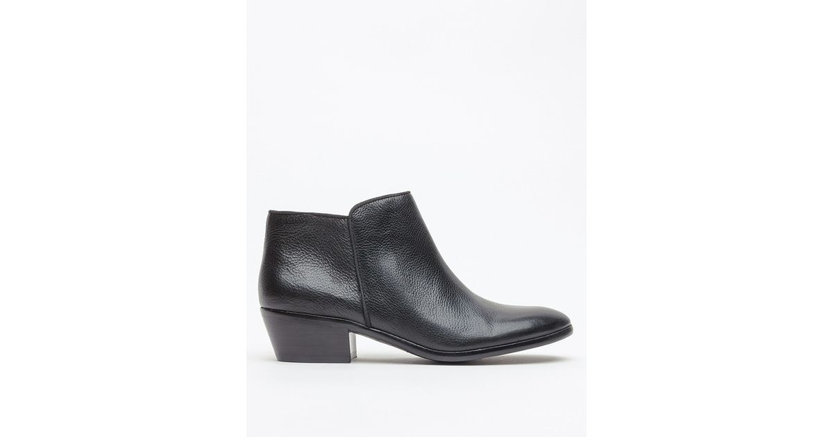 65ce53963d3fba Lyst - Sam Edelman Petty in Black Leather in Black