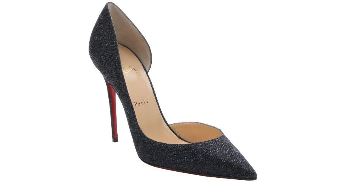 navy blue glitter heels fs heel